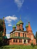 St Nicholas medeltida kyrka Royaltyfri Foto