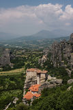 St. Nicholas monastery Meteora Greece Royalty Free Stock Photo