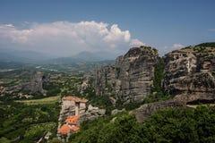 St. Nicholas Monastery - Meteora Greece Stock Image