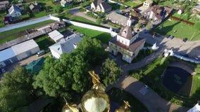 St. Nicholas Monastery (Pereslavl-Zalessky). St. Nicholas Monastery (Pereslavl-Zalessky, Russia stock footage