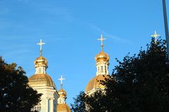 St. Nicholas Naval Cathedral St. Petersburg Russia Saints Petersburg .Russia stock photos