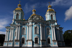 St. Nicholas Naval Cathedral Royalty Free Stock Photography