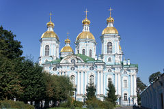 St. Nicholas Naval Cathedral Stock Images