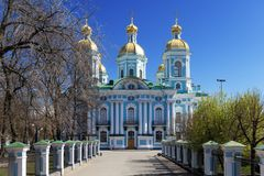 St. Nicholas Naval Cathedral Royalty Free Stock Images