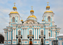 St. Nicholas Naval Cathedral Stock Photos