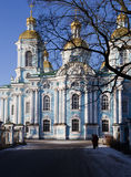 St. Nicholas naval cathedral Royalty Free Stock Photo