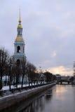 St. Nicholas Naval Cathedral, Saint-Petersburg Royalty Free Stock Photos