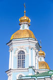 St. Nicholas Naval Cathedral, Saint-Petersburg Royalty Free Stock Images