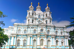 St. Nicholas Naval Cathedral . St. Petersburg Royalty Free Stock Images