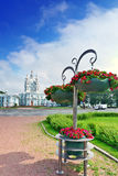 St. Nicholas Naval Cathedral . St. Petersburg Stock Image
