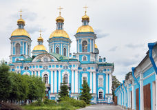 St Nicholas Naval Cathedral . St Petersburg. Royalty Free Stock Photography