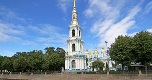 St Nicholas Naval Cathedral, St Petersburg, Russia Stock Photo