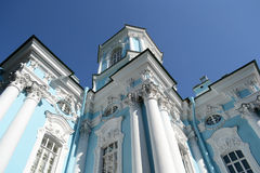 St. Nicholas Naval Cathedral, St. Petersburg. Royalty Free Stock Photo