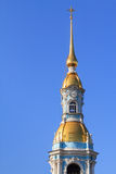 St. Nicholas Naval Cathedral Tower Royalty Free Stock Images