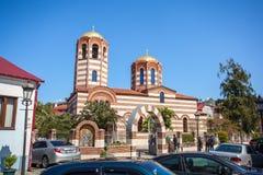 St. Nicholas Orthodox Church in Batumi. Republic of Georgia - 31.03.2018 royalty free stock image