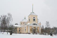 St Nicholas Orthodox Church em Kotka fotos de stock
