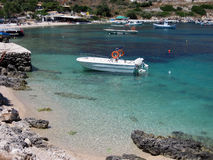 St. Nicholas Port, Zakythos-Insel, Griechenland Stockfoto