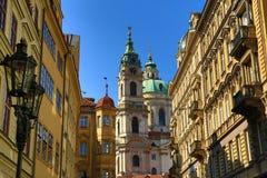 St. Nicholas, Prague, Czech Republic Royalty Free Stock Photos