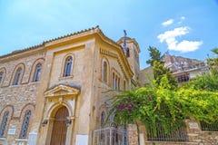 St Nicholas Rangavas Agios Nikolaos kościół w Ateny obrazy stock