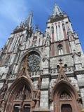 St Nicholas Roman Catholic Cathedral en Kyiv, Ucrania Imagenes de archivo