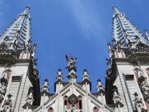 St Nicholas Roman Catholic Cathedral en Kyiv, Ucrania Fotos de archivo libres de regalías