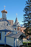St. Nicholas Russian Orthodox Church Stock Image