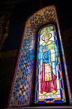 St Nicholas Stained Glass Window Royalty Free Stock Photos