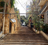 St. Nicholas' stairs, Beirut Royalty Free Stock Images