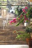 St Nicholas Stairs, Gemmayzeh - Líbano Foto de archivo