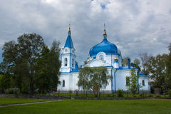 St. Nicholas temple in Sortavala, Russia Stock Photos