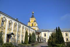 St Nicholas Ugreshsky monaster (Nikolo-Ugreshsky) Obraz Stock
