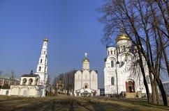 St Nicholas Ugreshsky monaster (Nikolo-Ugreshsky) Obrazy Royalty Free
