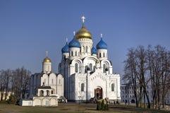St Nicholas Ugreshsky monaster (Nikolo-Ugreshsky) Obrazy Stock