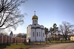 St Nicholas Ugreshsky monaster (Nikolo-Ugreshsky) Zdjęcia Stock