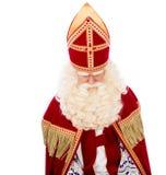 St. Nicholas on white background Stock Photos