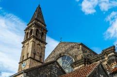 St Nickolas大教堂和钟楼 库存图片