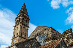St. Nickolas cathedral and belfry Stock Images