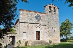 St nicolò abbey, facade Royalty Free Stock Image