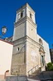 St. Nicola Mother Church. Corigliano d'Otranto. Puglia. Italy. Royalty Free Stock Photos