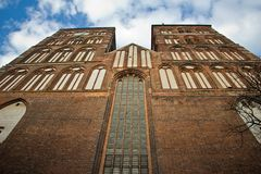 St Nicolai Church in Stralsund, northarn Germany Stock Image