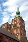 St Nicolai Church in Stralsund, northarn Germany Royalty Free Stock Photography