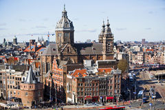 St Nicolas Basilica Amsterdam Stock Image