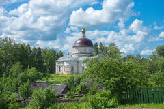 St. Nicolas Cathedral in Myshkin. Russian orthodox church Stock Photography