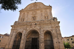 St. Nicolas Cathedral, Sardinia, Italy Royalty Free Stock Photography