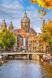 St. Nicolas Church in Amsterdam Stock Photography