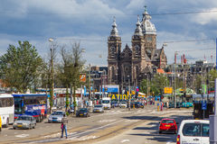 St Nicolas Church Amsterdam Stock Images