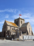 St-Nicolas church at Barfleur, Normandy Stock Image