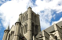 St Nicolas church  Ghent Royalty Free Stock Images
