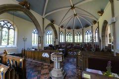 St Nicolas Church Interior A Image libre de droits