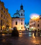 St. Nicolas Church in Prague Royalty Free Stock Photography